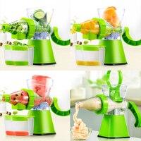 Juicer Manual Hand Fruit Vegetables Slow Juicers Lemon Extractor Machine Blend Fresh Health Crank Juicer Corn Kitchen Tools