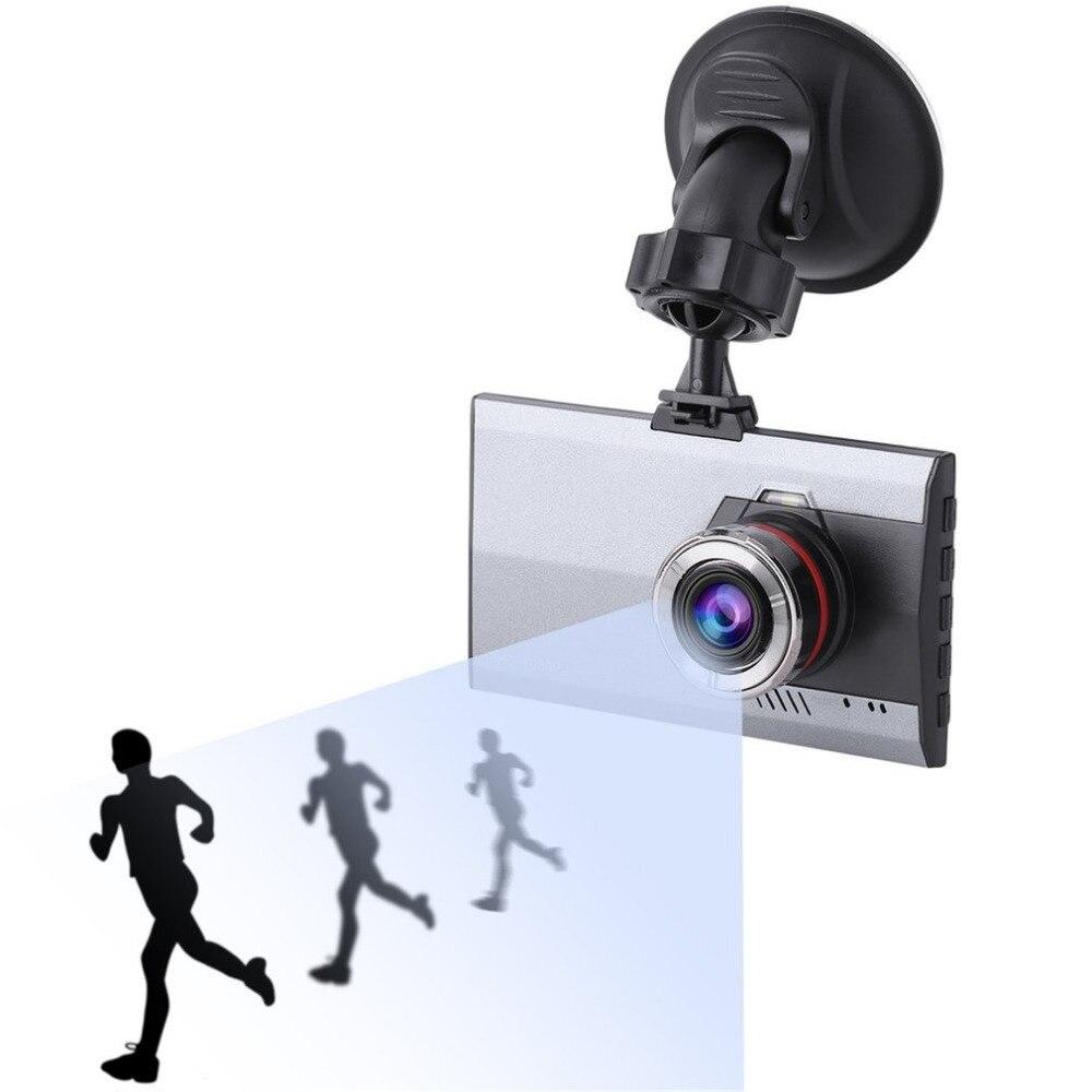 Nuevo 3 pulgadas LCD Full HD 1080 p visión nocturna del coche DVR ángulo de visión de 170 grados de detección de movimiento y G -Sensor Video Cam Dash cámaras