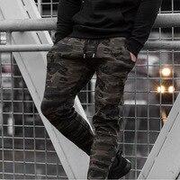 Brand Camouflage Sport Men Running Pants Gyms Sweatpants Male Fitness Bodybuilding Joggers Slim Trousers Men S