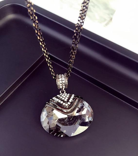 Pendant Crystal Necklaces Various Styles Jumper Pendants