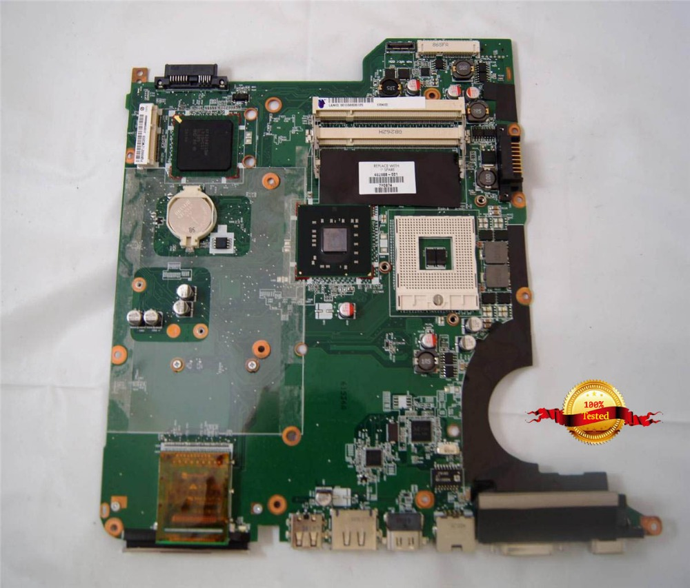 Top quality , For HP laptop mainboard DV5-1000 DV5-1100 DV5 482868-001 laptop motherboard,100% Tested 60 days warranty