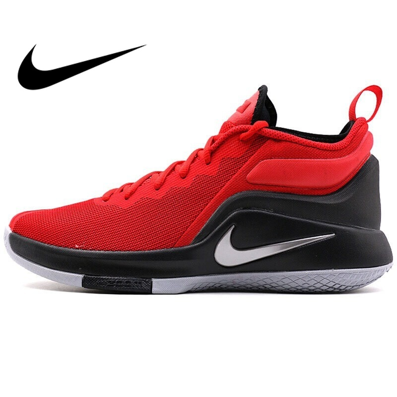 4343379a2cbdd Original NIKE WITNESS II EP Men's Basketball Shoes Sneakers Breathable High- cut Sports Shoes Designer