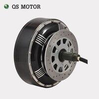 QS Motor 5000 W 273 45 H V2 Fırçasız DC Dişlisiz Elektrikli Otomobil Tekerlek Göbeği Motorlu