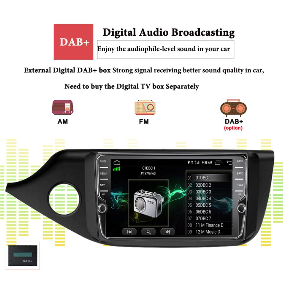 Flash Deal Android 9.1 IPS Octa core 4+64g Car Multimedia Player For KIA Ceed 2013 2014 2015 2016 Audio Radio Headunit 2din Carplay DSP MAP 11