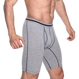 Image 5 - 4 ชิ้น/ล็อต 2019 แบรนด์ใหม่แฟชั่นเซ็กซี่ชายนักมวยกางเกงขาสั้นยาวกางเกง Man Plus ขนาดใหญ่ชุดชั้นในนักมวย