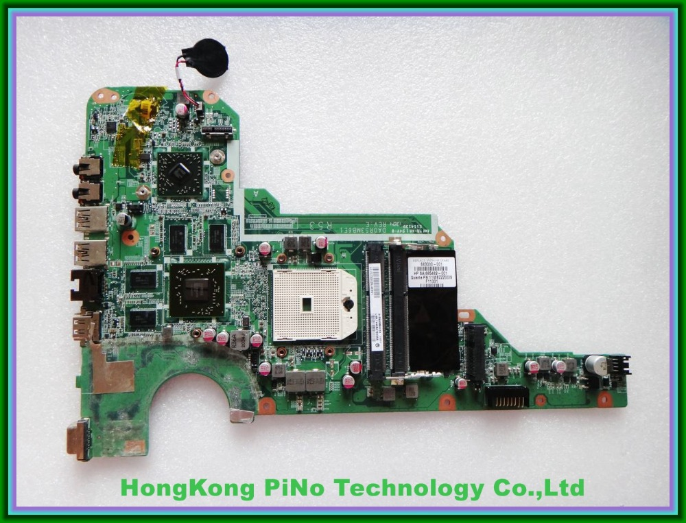 683030-001 for HP G4 G6 G7 G4-2000 G6-2000 Motherboard  683030-501 R53 DA0R53MB6E0 100% Tested 60 days warranty  free shipping 683030 001 683030 501 for hp pavilion g4 g6 g4 2000 g7 g6 2000 motherboard r53 da0r53mb6e0 da0r53mb6e1