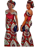 African Dresses For Women Time limited Top Fashion Cotton 2019 African Print Dress, Long Fashion Women Clothing