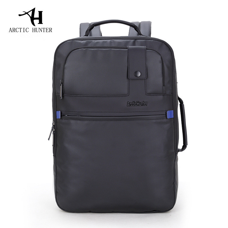 ARCTIC HUNTER 2017 Brand Business Classic Backpack Men Travel Bagpack Bags Stylish Large Softback Laptop Backpack with Button new spring teenagers kids clothes pu leather girls jackets children outwear for baby girls boys zipper clothing coats costume page 1