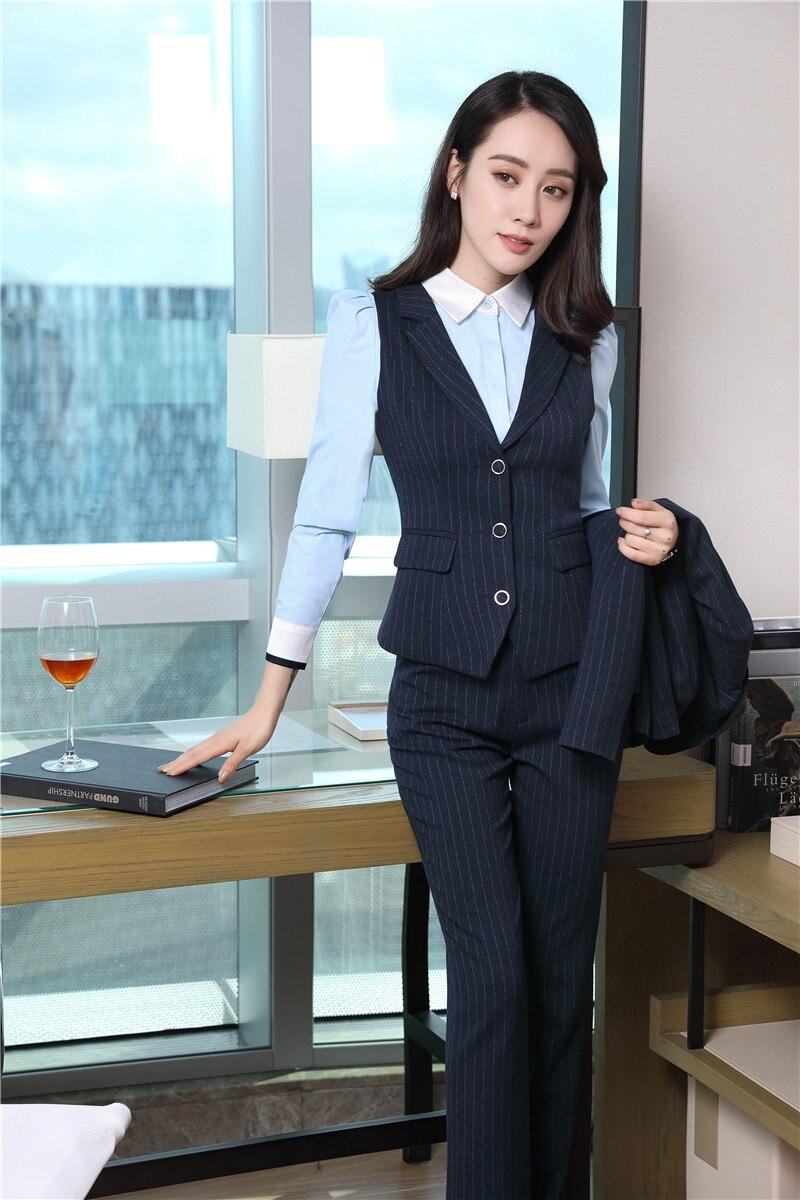 Hosenanzüge Uniform Blazer Anzüge Bluse Und Formal Von Stück Mantel Styles Jacken Damen Großhandels Weste Größe Mit Hosen Plus Seein 4 Und Großhandel vN80wOnm