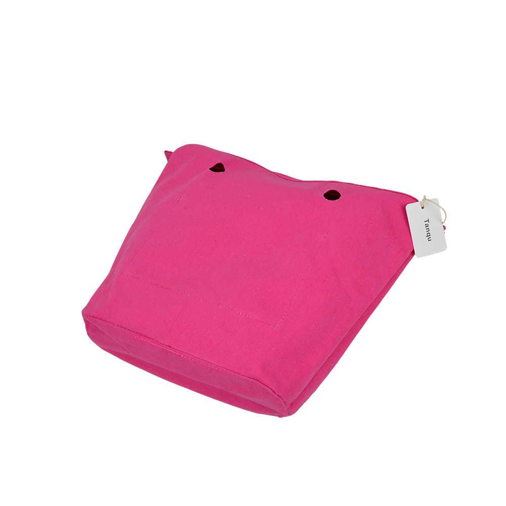 TANQU, новинка, водонепроницаемая внутренняя подкладка, вставка, карман на молнии для классического мини Obag, холст, внутренний карман для O Bag