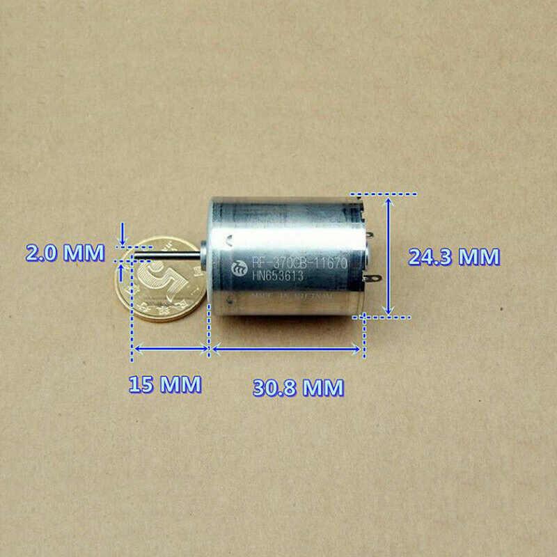 Mabuchi RF-370CB-11670 Dc 12 V-24 V 6250 Rpm Auto Deur Raam Actuator Dc 12 V-24 V wormwiel Onderdelen Versnellingsbak