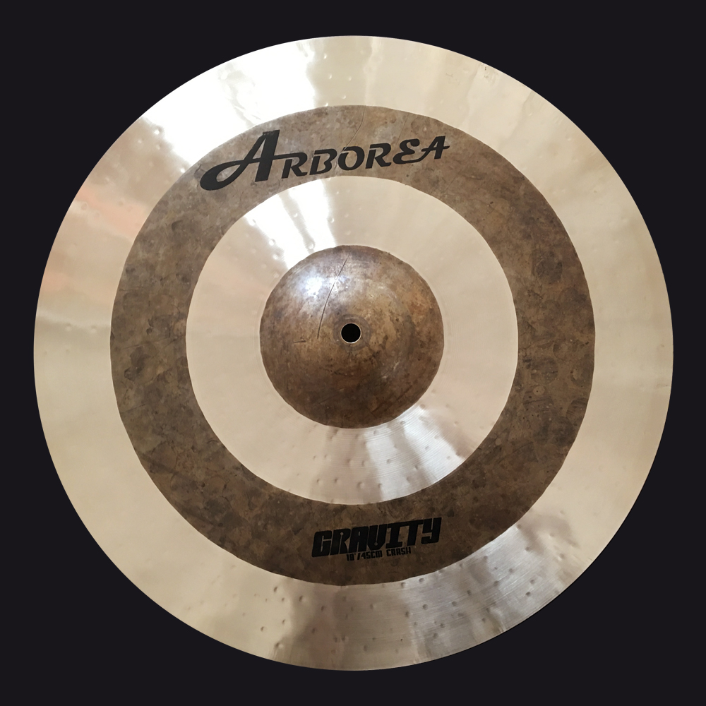 Arborea cymbal,Gravity 18 Crash