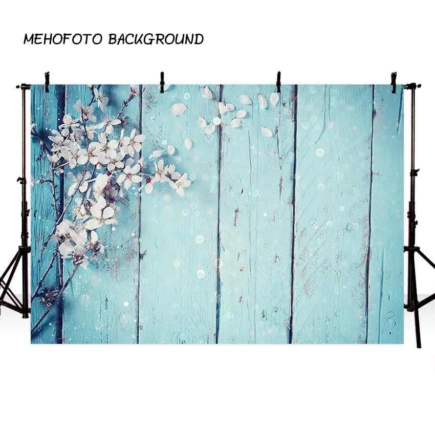 Mehofoto 3X5FT Chụp Ảnh Phông Nền Sàn Gỗ Hoa Ảnh Nền Kỹ Thuật Số In Phông Nền Chụp Ảnh Phòng Thu