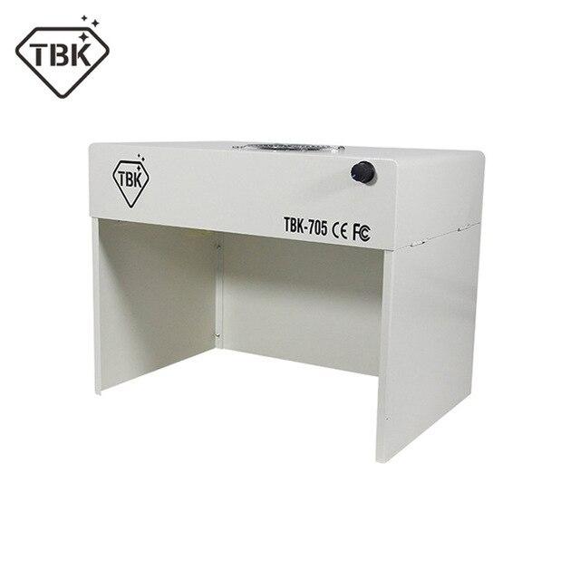 2018 plus récent portable TBK-705 Mini sans poussière nettoyage etabli sans poussière salle de travail banc Table propre