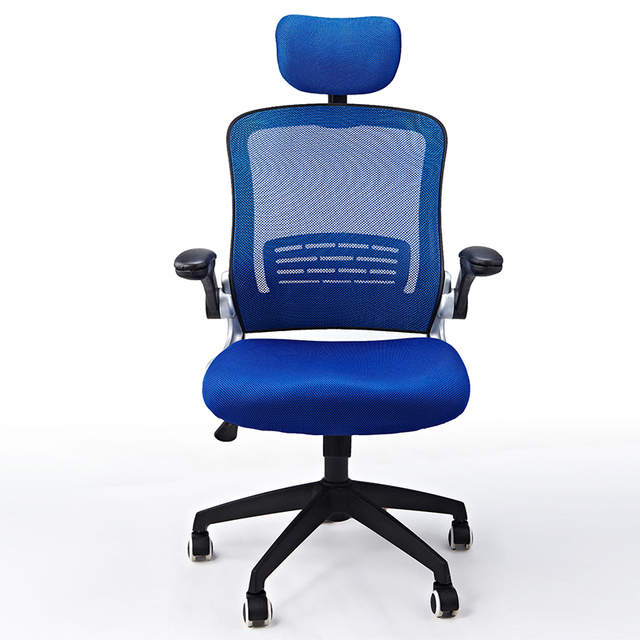 Ergonomic Executive Office Chair Mesh Cloth Swivel Computer Chair ...