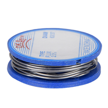 цена на JCD 0.8mm Tin Lead Rosin Core Solder Soldering Wire 3.5x1.1cm Flux Content Solder Soldering Wire Roll
