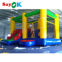 Outdoor inflatable jumper, inflatable bouncer with slide, inflatable trampoline sale