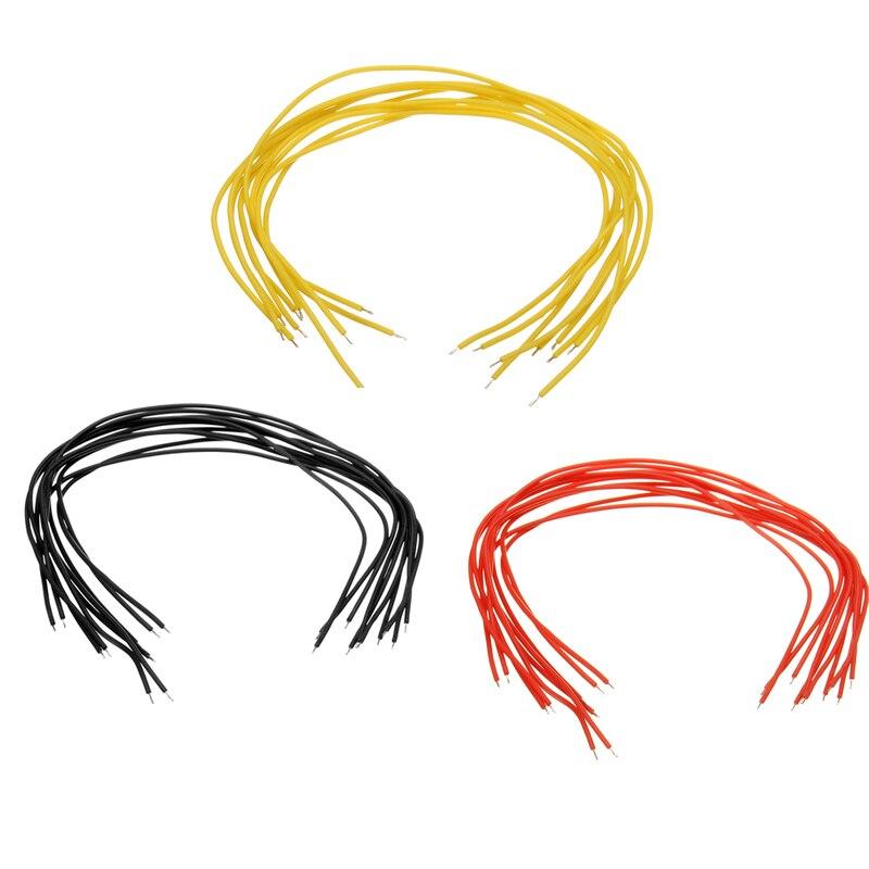 40 шт. DIY 15 см силиконовый кабель AWG30 гибкий AV видео передатчик сигнальный провод для RC FPV модель инструмента DIY части