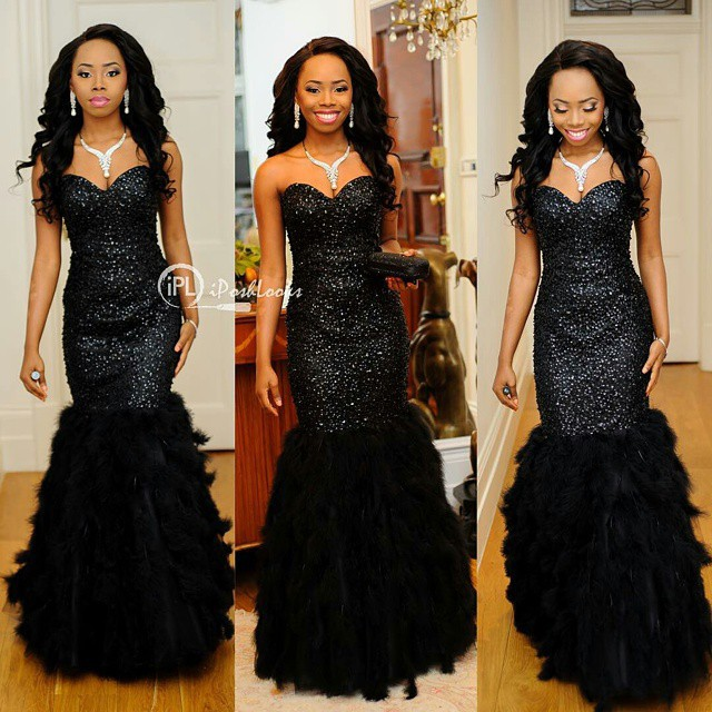 Popular Black Feather Gown-Buy Cheap Black Feather Gown lots from ...