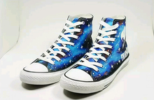 FAIRY TAIL Cosplay Natsu Logo Print Luminous Casual Canvas Shoes