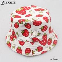 Niños niña Sombreros Primavera Verano gorras algodón cubo sombrero bebé  niños niño Zoo animales Cap flor ee2321953b3