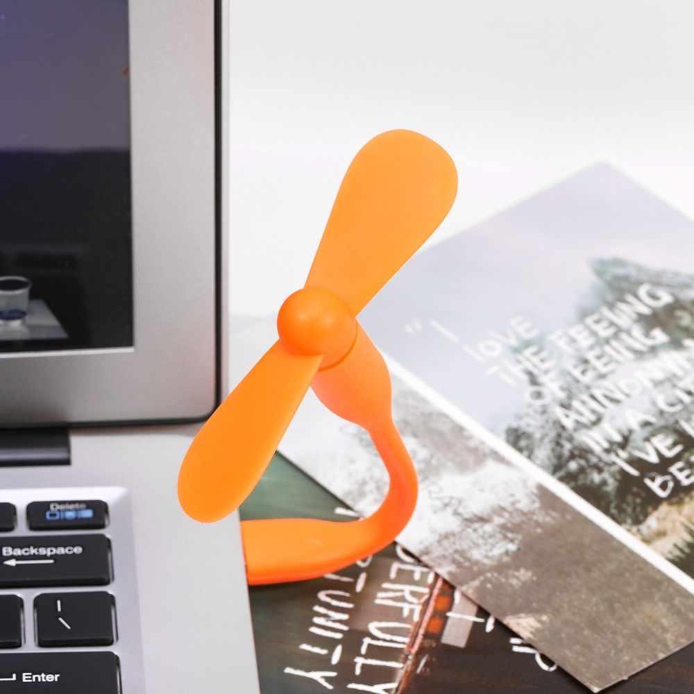 Универсальный гибкий мини-usb Вентилятор Кулер для power Bank ноутбук ПК компьютер Бесплатная доставка