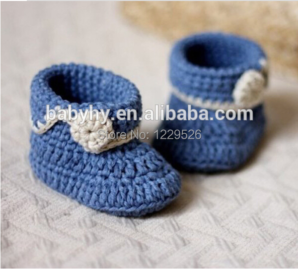 Mielos rankos nėrimo kūdikių batai Mados nėrimo mezgimo kūdikių batai