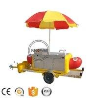 KN HS230 hot dog food грузовик с прицепом гамбургер Мороженое быстрая прицеп/грузовик с нержавеющая сталь