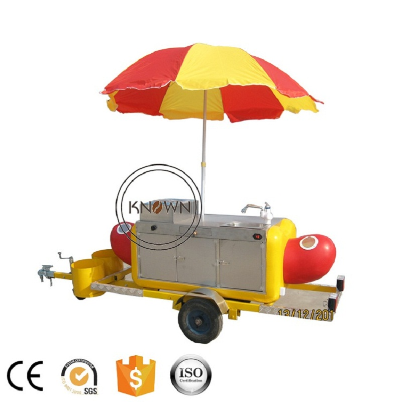 все цены на KN-HS230 hot dog food trailer truck Hamburger ice cream fast trailer/truck with stainless steel
