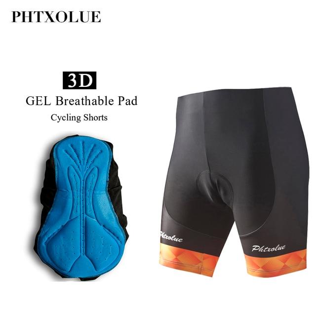 Phtxolue Mens Cycling Shorts Coolmax GEL Breathable Pad MTB Bicycle Shorts Road  Bike Shorts Ropa Ciclismo Tights 2a5a56be0