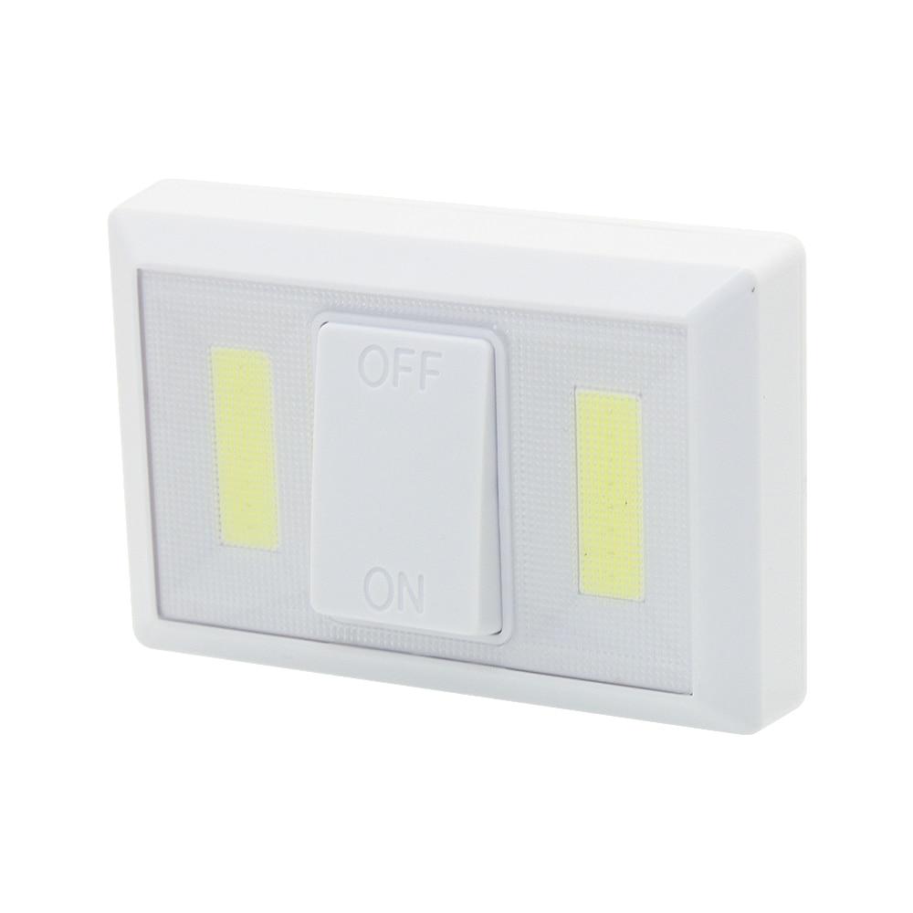 Led Garage Lights Battery: 1pcs Magnetic COB LED Wall Night Light Switch Lamp