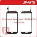 """Original 5.25 """"para samsung galaxy grand 2 g7102 g7105 digitador da tela de toque de lente de vidro do painel sensor frete grátis + código de rastreamento"""
