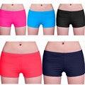 2017 Shorts de Verão Mulher Feminino Cintura Bermudas Retas Mulheres juram de Fitness Curto Plus Size HO660036