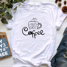 But First Coffee Women T Shirt Funny Graphic Tees Hipster Grunge Tumblr Clothes