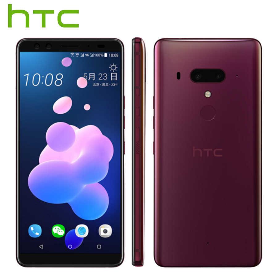 حار بيع HTC U12 زائد 4G LTE الهاتف المحمول 6GB 128 GB/64 GB الروبوت 8 أنف العجل 845 الثماني النواة 6.0 بوصة 2K شاشة IP68 هاتف ذكي