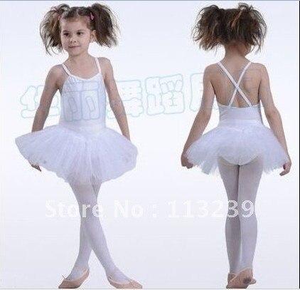 Free Shopping - New Girls  Ballet Tutu Party Dance Leotard Skirt Costume Kids Fairy Dress SZ 3-8Y