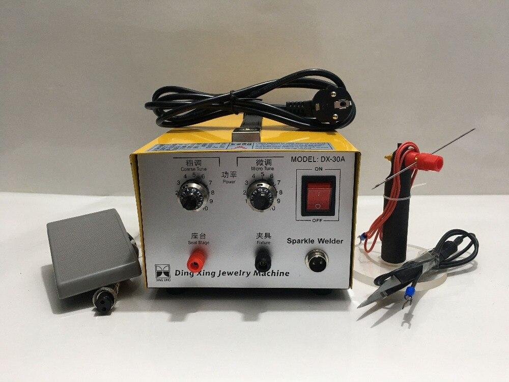 Outils de bijoux, Machine de soudage de bijoux soudeuse électronique scintillante orfèvre et équipement dentaire