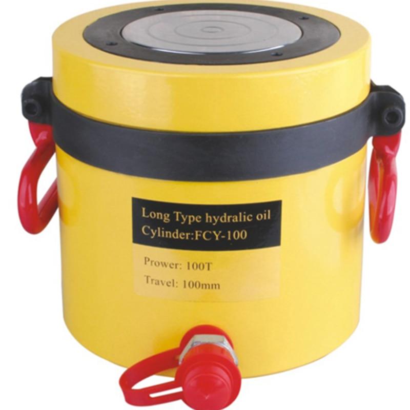 1pc  100 T 100mm stroke tipo di Lunga durata hydraulic jack, idraulico ram FCY-1001pc  100 T 100mm stroke tipo di Lunga durata hydraulic jack, idraulico ram FCY-100