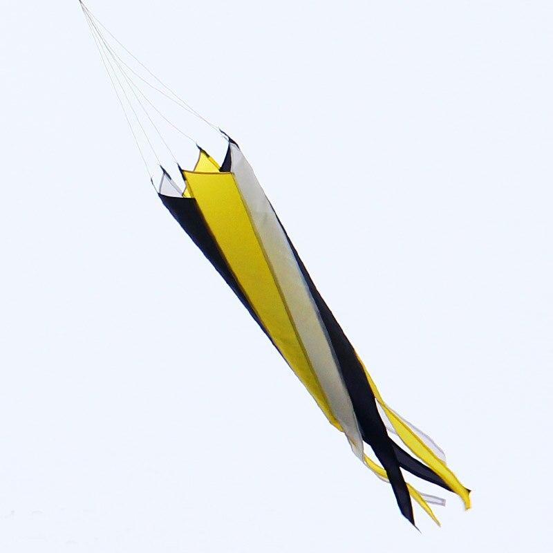 送料無料高品質2ピース/ロット吹流し凧アクセサリーフライングおもちゃナイロンリップストップ凧魏カイト屋外のおもちゃ金魚