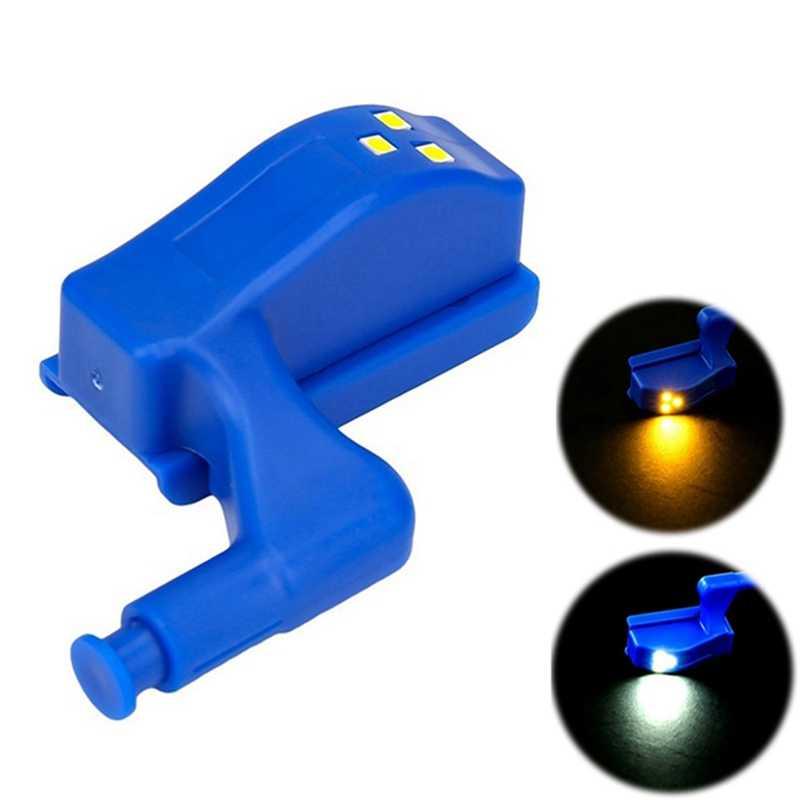 Universal Furniture Lemari Kabinet Lemari Engsel Lampu LED Night Light Pintu Terbuka Auto LED Bohlam Hemat Energi Lampu Rumah