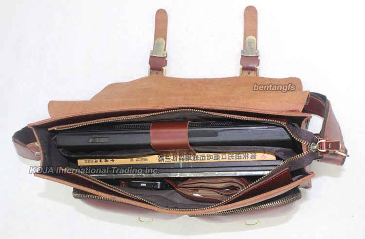 """新しい高クラスイタリア本革メッセンジャーバッグショルダーバッグの男性男性の革の男性ハンドバッグショルダーバッグ14"""" インチノートパソコン用のバッグ"""