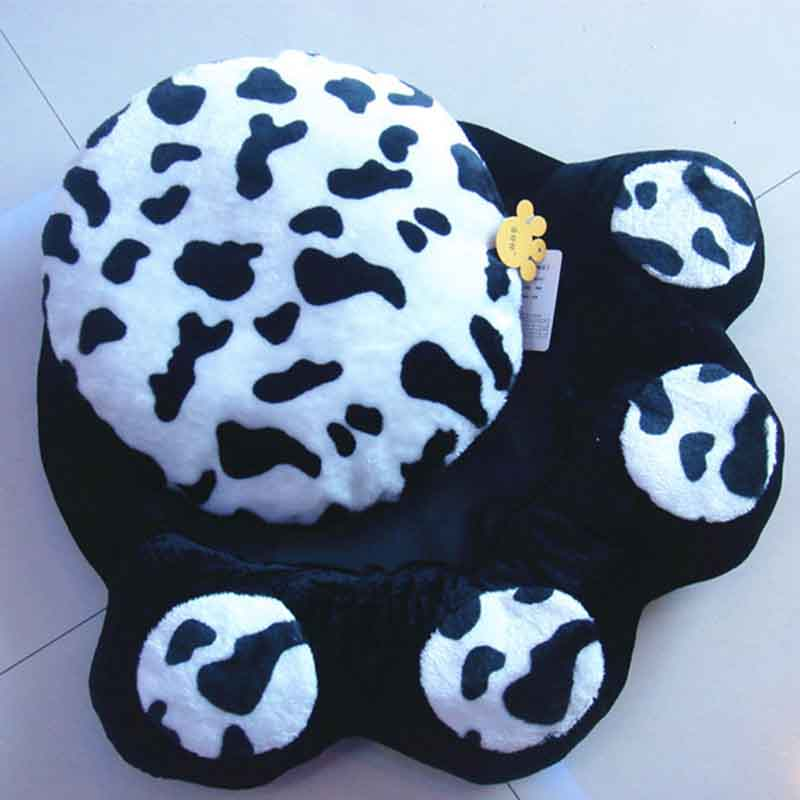 Lovely Paw Fleece Winter Warm Dog Puppy Soft Pad Bed House
