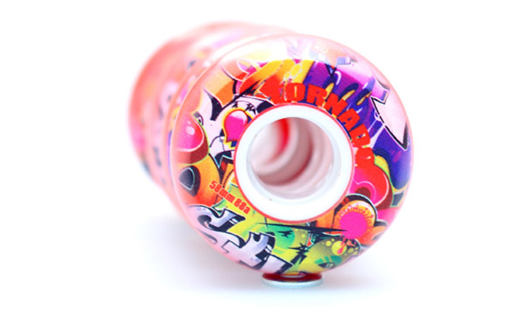 Free Shipping Aggressive Skate Wheel 58 Mm  88 A  8 Pcs / Lot