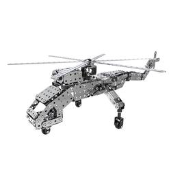 DIY Alloy Assembly Helicopter DIY Assembled Helicopter Decorate Kid Entertainment Non-Toxic Funny