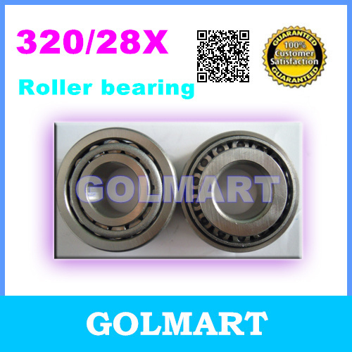 2pcs taper roller bearing 320/28X  Auto Wheel Tapered China Bearing  28x52x16mm smael 1708b