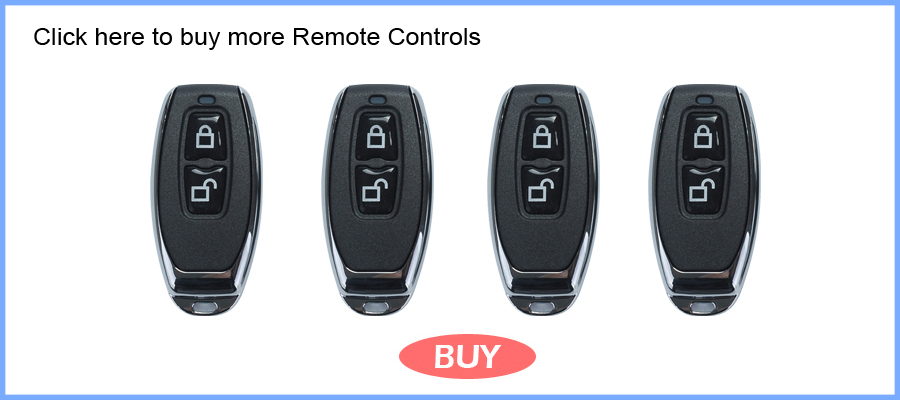 HTB1PZ56k4TI8KJjSspiq6zM4FXa8 Wafu 010 Wireless Electronic Door Lock Keyless Invisible Intelligent Lock With Touch Locked&Unlock Button 4 Remote Control Keys
