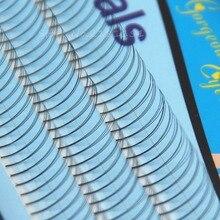 8mm/10mm/12mm Extensión de Pestañas Falsas Suaves Naturales de Lujo Falso Pestañas Pestañas VOLUME Fans