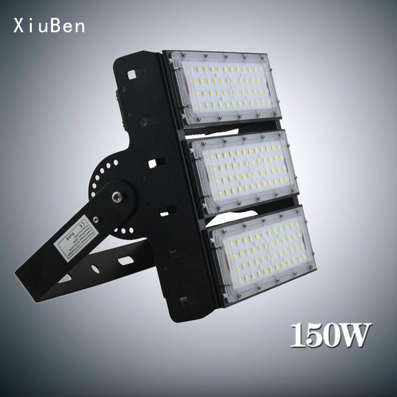 Led Waterproof Light Projector 50w 100w 150w 200w 300w 400W Philps High Power Tunnel Module Light outdoor flood wall lamp IP65