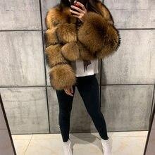 Casaco de pele de guaxinim casaco de pele de guaxinim