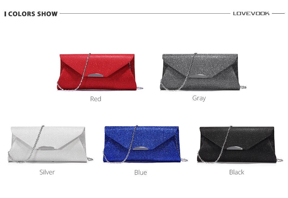 Lovevook moda feminina noite embraiagens saco feminino